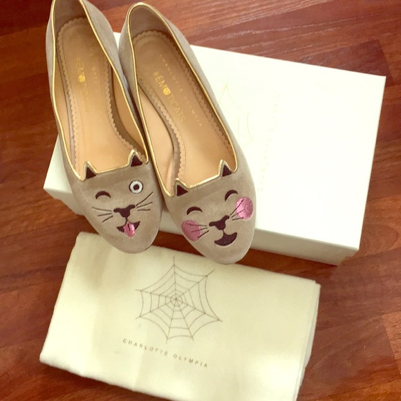 58653f2817a Charlotte Olympia Shoes - ❗️SALE❗️Charlotte Olympia  Emoticats 🐱 flats